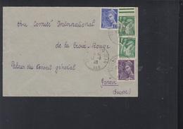 France Lettre 1940 Jean Du Var - 1921-1960: Periodo Moderno