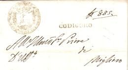 Codigoro - Letter 1839 - Stag - Deer - Hunting - Sin Clasificación