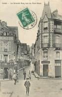 CPA 53 Mayenne Laval La Grande Rue Vue Du Pont Vieux Tabac Librairie - Laval