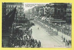 * Brussel - Bruxelles - Brussels * (Lagaert, Nr 10) 75 Anniversaire Indépendance, Défilé Des écoles, 2/07/1905, Café - Bruxelles-ville