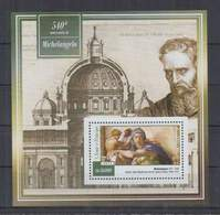 B712. S.Tome E Principe - MNH - 2015 - Art - Painting - Michelangelo - Bl - Art