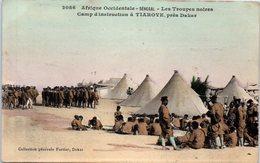 AFRIQUE --  SENEGAL - Les Troupes Noires Camp D'instruction à Tiaroye - Sénégal