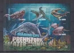F712. Sierra Leone - MNH - 2016 - Nature - Marine Life - Dinosaurs - Plants