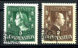 Liechtenstein Nº 213/14 En Usado. Cat.35€ - Liechtenstein