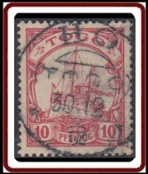 Togo Occupation Allemande - Ho Sur N° 09 (YT) N° 21 (AM). Oblitération De 1912. - Togo (1914-1960)