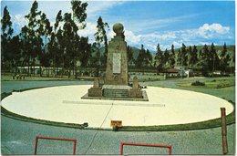 LINEA EQUINOCCIAL - EL ARCO MERIDIANO A 0° 0' O ''    - - Ecuador