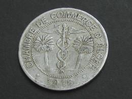 10 Centimes CHAMBRE DE COMMERCE D'ALGER  1918   **** EN ACHAT IMMEDIAT **** - Adel