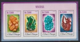 M315. Sao Tome & Principe - MNH - 2014 - Nature - Minerals - Plants