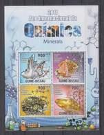 O711. Guine-Bissau - MNH - 2011 - Nature - Minerals - Plants