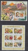 P710. Comores - MNH - 2008 - Nature - Minerals - Mineralogists - Plants