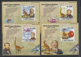 U314. S.Tome E Principe - MNH - Nature - Fauna - Prehistoric Animals - Imperf - 3 - Altri