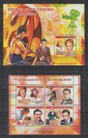 W709. Guinea - Bissau - MNH - Famous People - Marilyn Monroe - Chaplin - Movies - Celebridades