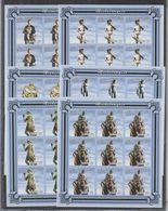 W945. 9x Mozambique - MNH - 2001 - Art - Michelangelo - Imp - Full Sheet - Arts