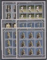 W945. 9x Mozambique - MNH - 2001 - Michelangelo - Sculptures - Imp - Full Sheet - Arts