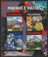 Y710. Mozambique - MNH - 2016 - Nature - Volcanos - Minerals - Flora