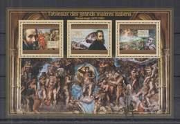 Z711. Guinee - MNH - 2012 - Art - Painting - Italy - Michelangelo - Art