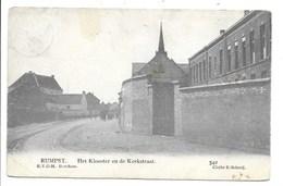 Rumst - Het Klooster En De Kerkstraat. - Rumst
