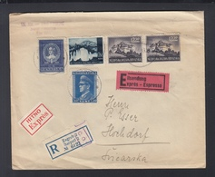 Croatia Expres Cover 1943 To Switzerland - Croatie