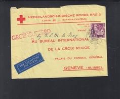 Ned-Indie Brief Roode Kruis - Niederländisch-Indien