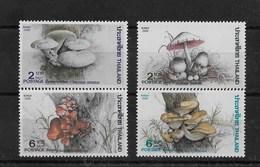 Serie De Tailandia Nº Yvert 1161/64 ** SETAS (MUSHROOMS) - Tailandia