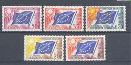 Año 1958 Nº17/1 Consejo De Europa - Servicio
