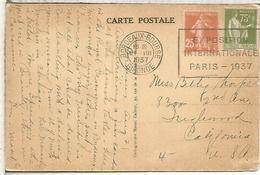 FRANCIA PARIS 1937 MAT EXPOSICION INTERNACIONAL AQUI SE PRESENTO EL GUERNICA DE PICASSO - Picasso