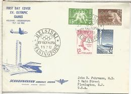FINLANDIA CC 1952 JUEGOS OLIMPICOS DE HELSINKI OLYMPIC GAMES - Ete 1952: Helsinki