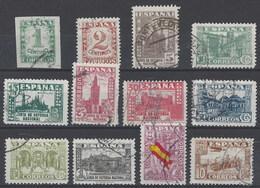 España 0802/813 (o) Junta De Defensa. 1936. Reimpresion - Variétés & Curiosités