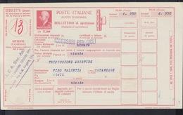 Bollettino Di Spedizione - Postwaardestukken