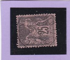 SAGE N° 97   - CACHET A DATE   CHARGEMENT  - REF 1602 - Très Centré - 1876-1898 Sage (Type II)