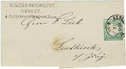1872, Streifband 1/3 Gr. , Mi. 55.- Zu Niedrig  ,  #2637 - Germania