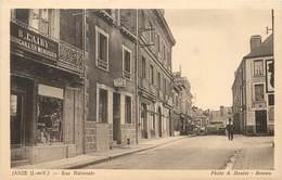 JANZE - Rue Nationale, Quincaillerie B Lairy. - Sonstige Gemeinden