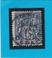 SAGE N° 101   - CACHET A DATE   PARIS DEPART  -  28 JANV. 1897- REF 1602 - Cachet Très Bien Centré - 1876-1898 Sage (Type II)
