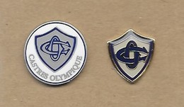 LOT 2 PIN'S CASTRES RUGBY - Rugby