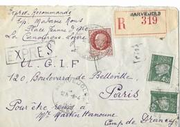 U.g.i.f.    Judaica  Camp De Drancy     Mr Martin Hanoune - Historische Dokumente
