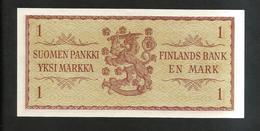 FINLANDIA - SUOMEN PANKKI - 1 MARKAA (1963) - Finlandia