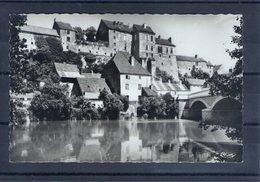 70. Pesmes. L'ognon, Le Pont Et Le Château. Cpsm Petit Format - Pesmes