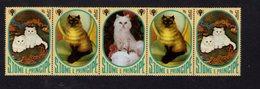 886141381 1981 SCOTT 635 POSTFRIS MINT NEVER HINGED EINWANDFREI (XX) - INTL YEAR OF THE CHILD AND CATS - Sao Tome Et Principe