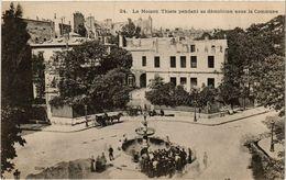 CPA PARIS Maison Thiers Pendant Sa Démolition Sous La Commune (305546) - Evènements