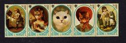 886146337 1981 SCOTT 633 POSTFRIS MINT NEVER HINGED EINWANDFREI (XX) - INTL YEAR OF THE CHILD AND CATS - Sao Tome Et Principe
