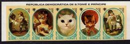886149169 1981 SCOTT 633 POSTFRIS MINT NEVER HINGED EINWANDFREI (XX) - INTL YEAR OF THE CHILD AND CATS - Sao Tome Et Principe