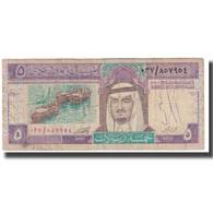 Billet, Saudi Arabia, 5 Riyals, KM:22a, TB - Arabie Saoudite