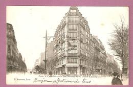 Cpa Paris Carrefour De La Rue Sarrette Et De La Rue D'Alésia - éditeur P Marmuse - Francia