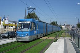 Dresde (Saxe - Allemagne) Août 2005 - Tramway De Dresde - CarGoTram - Rame N°2001 - Dresden