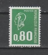 FRANCE / 1976 / Y&T N° 1891 ** : Béquet 80c Vert Typo (1 Bande PHO) X 1 BdF Bas - Francia