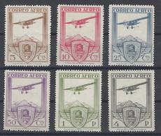 España 0483/488 F ** Ferrocarriles. 1930. Reimpresion - Variedades & Curiosidades
