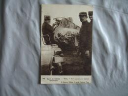 Guerre 14.18 Notre 75 Monte Sur Plateau Automobile - Guerra 1914-18