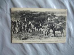 Guerre 14.18  Section Mitrailleurs En Reserve - Guerra 1914-18