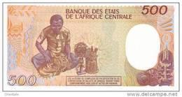 CONGO REPUBLIC P.  8d 500 F 1991 UNC - República Del Congo (Congo Brazzaville)
