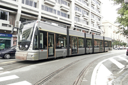 Messine (Sicile - Italie)  25 Septembre 2009 - Tramway De Messine - Rame Cityway N°11(Alstom Power) - Messina